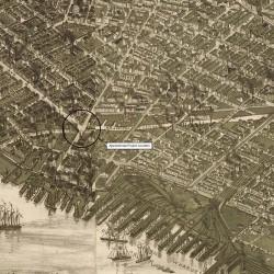 Aramingo Canal in the last quarter of the 19th century