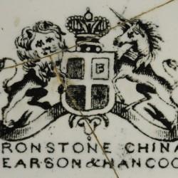 Pearson & Hancock, Cobridge, England (circa 1851–1853).  Plate (4A-C-0005).