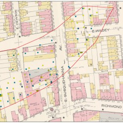 1916 Sanborn map