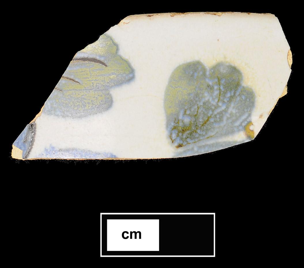 Figure 9. Tin-Glazed Painted Sherd